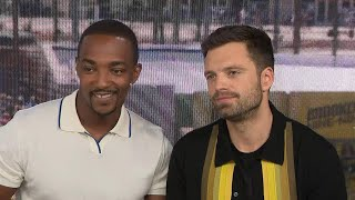 Comic-con 2019 Anthony Mackie And Sebastian Stan Full Interview