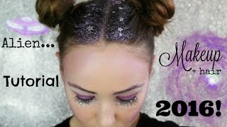 Hi everyone hope you all enjoy! This is Space Girl Alien Makeup Tut...