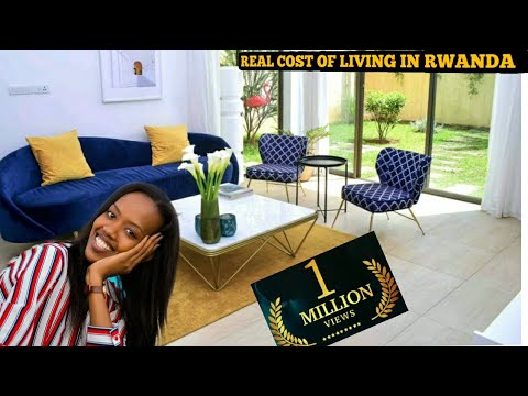 TRUE COST OF LIVING IN RWANDA, AFRICA IN 2021 Compared to USA   Best Country for AFRICAN AMERICANS