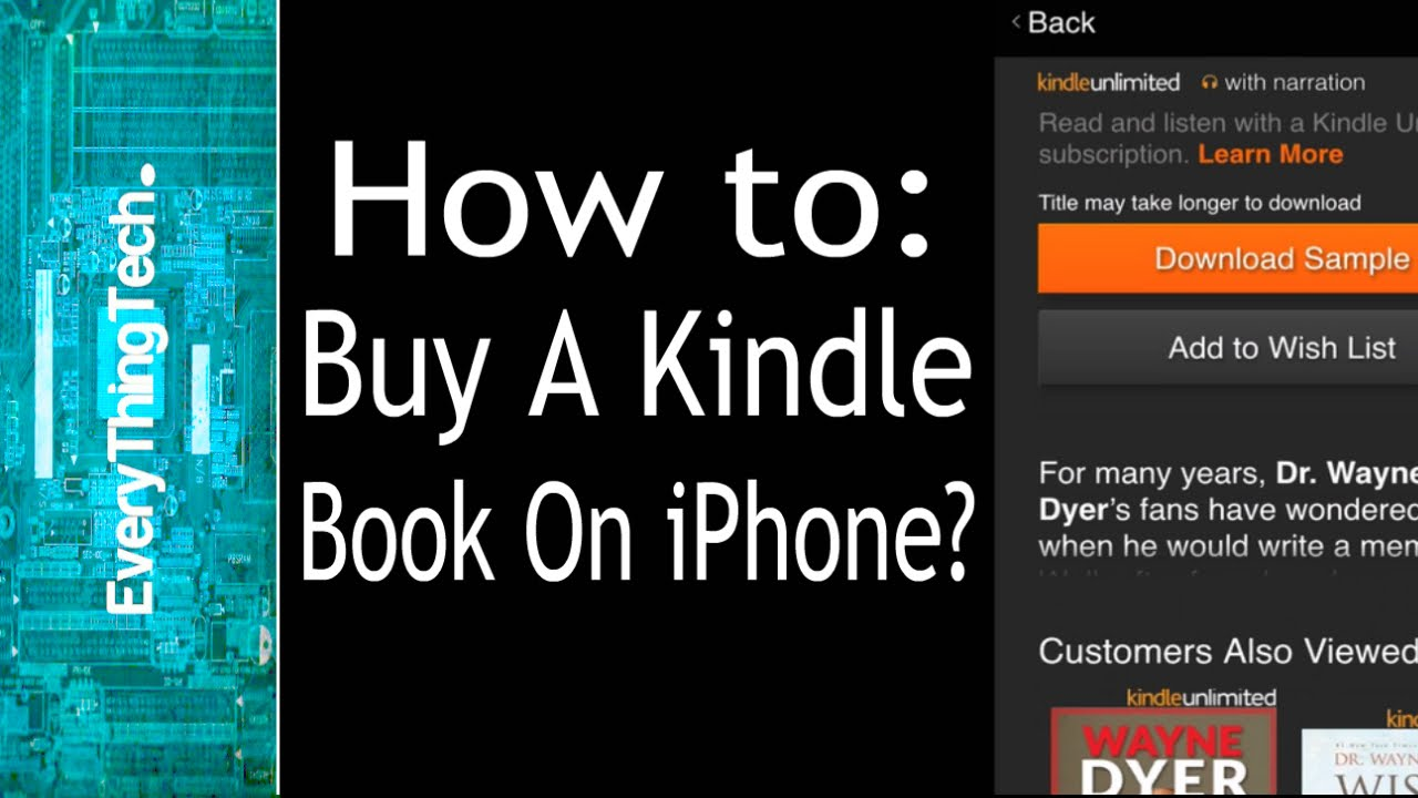Book On Kindle Iphone