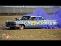 Just Skids: Malcolm Ngatai V8 Cadillac Burnout - D1NZ R5 Christchurch 2016