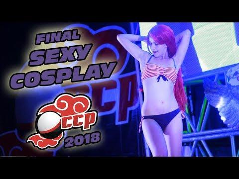 Final de la Pasarela Sexy Cosplay CCP 2018