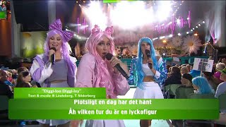 Allsång: Diggiloo diggiley - Lotta på Liseberg (TV4)