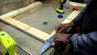 Making A Folding Sawhorse