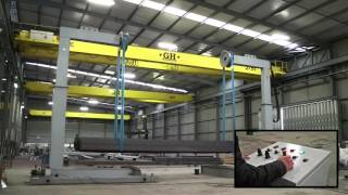 Кантователь напольный с гидравлическим подъемом(Новая модель кантователя FFR 3015 способна обрабатывать груз весом до 15 тонн и вращать крупногабаритные метал..., 2016-04-28T08:29:06.000Z)