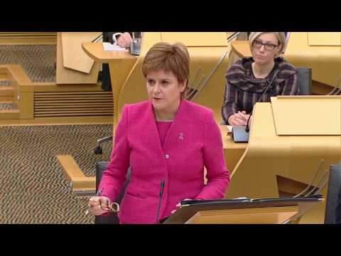 First Minister's Questions - 5 October 2017