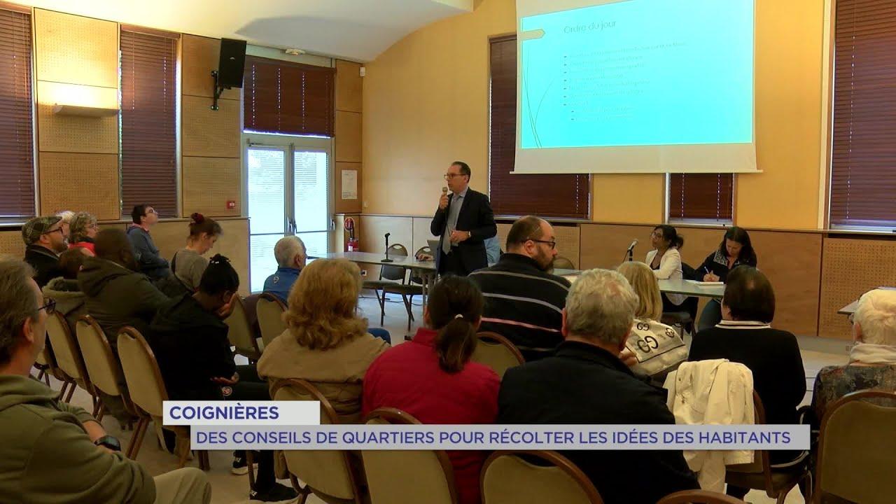 Yvelines | Coignières : Des conseils de quartiers pour récolter les idées des habitants