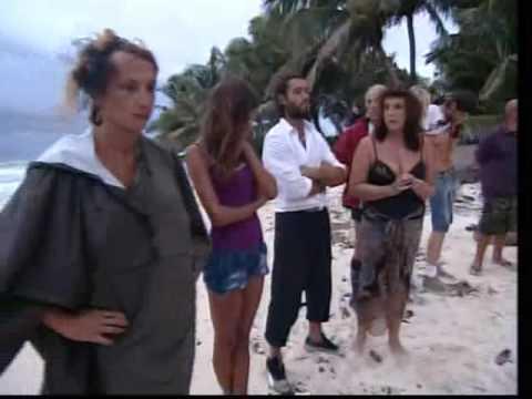 Isola dei famosi 2008 - Luxuria si arrabbia con la De Blanck