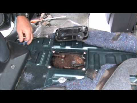 toyota 2000 rav4 fuel pump removal youtube. Black Bedroom Furniture Sets. Home Design Ideas