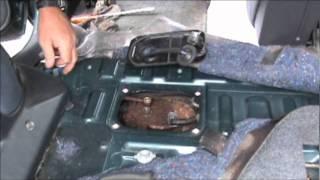 Toyota 2000 Rav4 Fuel Pump Removal