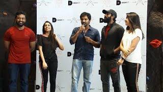 DEEPFIT Gym Launch at Club Crest Phoenix MarketCity | Shanthanu | KIKI | VJ Nakschitra |STV