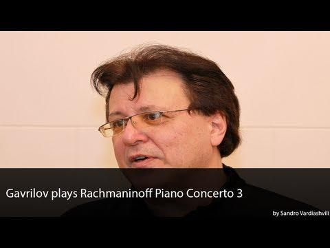 Andrei Gavrilov plays Rachmaninoff Piano Concerto 3