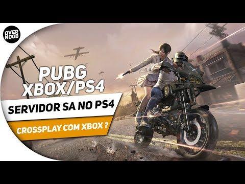 📰 PUBG XBOX/PS4| SERVIDOR SA NO PS4 CROSSPLAY COM XBOX E MAIS