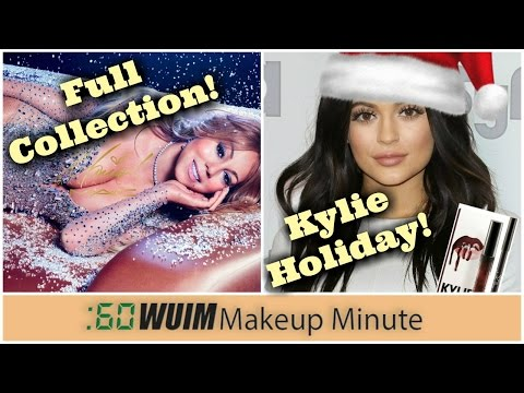 Makeup Minute|MARIAH'S ENTIRE MAC COLLECTION + KYLIE'S HOLIDAY KITS COMING SOON!|What's Up In Makeup