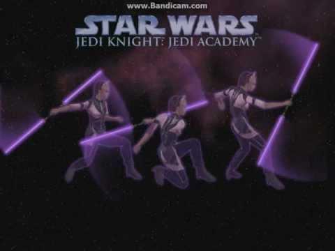 STAR WARS Jedi Knight Jedi Academy part 1: PLANE WRECK!!!  
