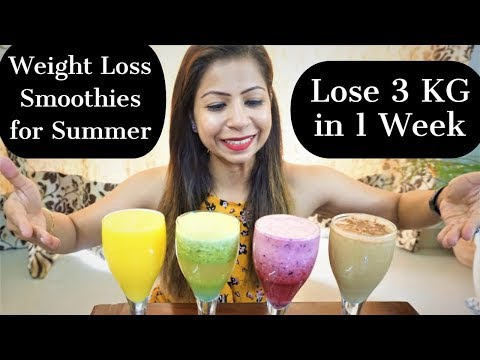 4-weight-loss-smoothies-recipe-for-summer-|-smoothies-diet-for-weight-loss-|-fat-to-fab