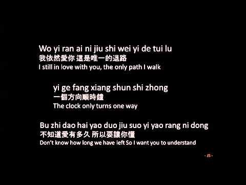 Wang Lee Hom 王力宏   Yi Ran Ai Ni 依然愛你 Pinyin + English Lyrics