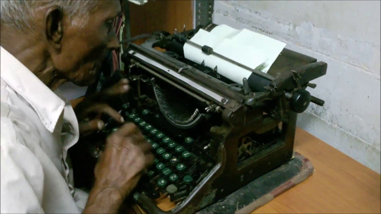how to fix a typewriter carriage