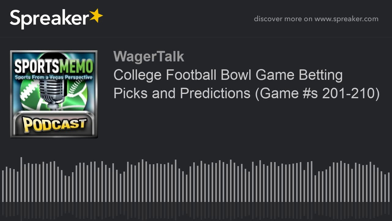 college bowl betting picks