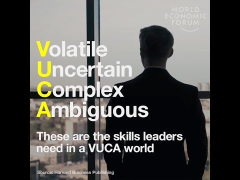 Volatile Uncertain Complex Ambiguous - These Are The Skills Leaders Need In A VUCA World