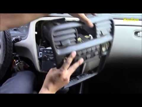 DIY: How to: Replace a non working 1999 Honda Accord climate control panel