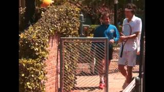 CHANGO FEROZ - PARTIDO DE TENIS - EDU FEINMANN VS ANDY CHANGO - 23-10-14