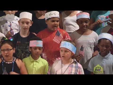 Union Hill School Celebrates Flag Day - 2019