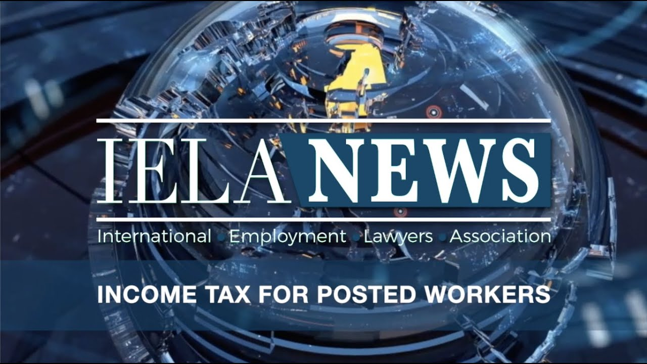 Income tax for posted workers