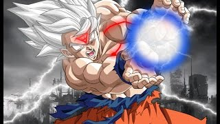 Dbz (amv) What if goku almost went super saiyan white vs beerus