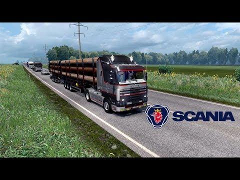 ETS2 1.28 - Southern Region - Scania 143M - Krasnodar to Nevinnomyssk