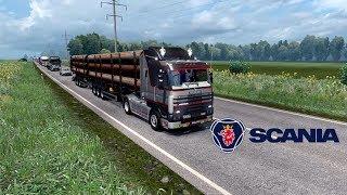 ETS2 1.28 Southern Region Scania 143M Krasnodar to Nevinnomyssk