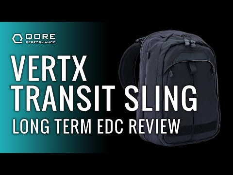 Long Term EDC Bag Review: Vertx Transit Sling
