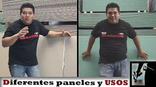 Diferentes tipos de Paneles, usos y complementos || Drywall
