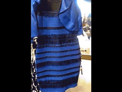 Vestito blu e nero vero colore