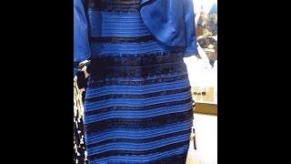 Spiegazione colore vestito blu e nero o bianco e oro THEDRESS