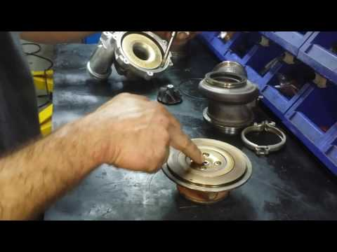 BMW turbocharger how to disassemble