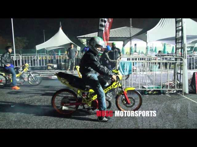DRAG RACE 201M - 125Z STD BODY - RKM KBS MALAYSIAN DRAG RACING 2013 R2 Travel Video