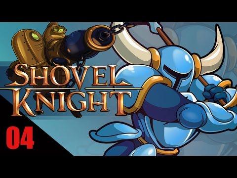 Shovel Knight #04 Bosque en fase y Ballena de Hierro  - gameplay español