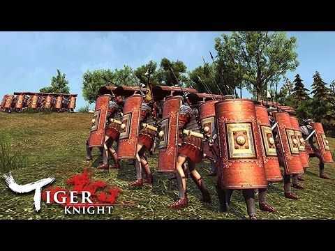 Roma Victor!  Epic Battles!  Mount and Blade Meets World of Tanks (Tiger Knight Gameplay)