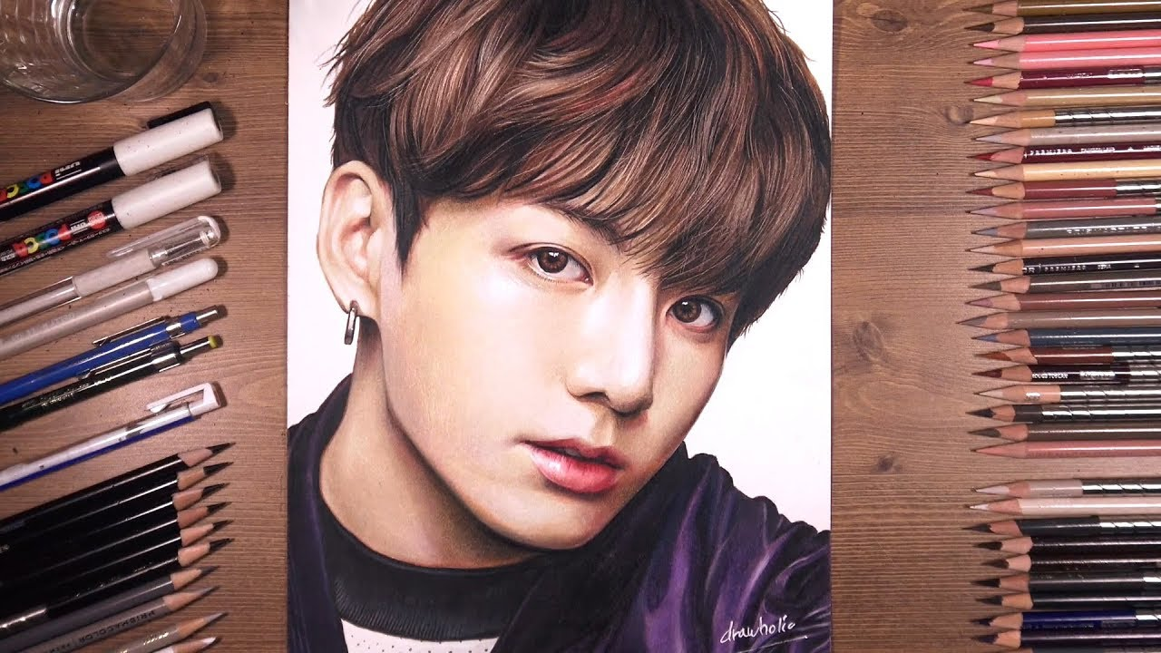 Jungkook Bts Drawings