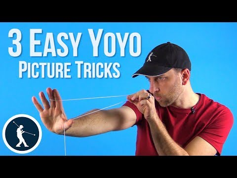 Learn 3 Easy Yoyo Picture Tricks - The Arrow, Pizza, And Spaghetti