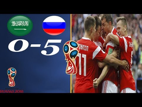 Russia And Saudi Arabia 3-0 Word Cup 2018 Match Goals & HighLights