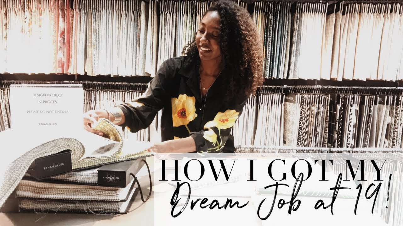How I Got My Dream Job With No Experience At 19 Youtube