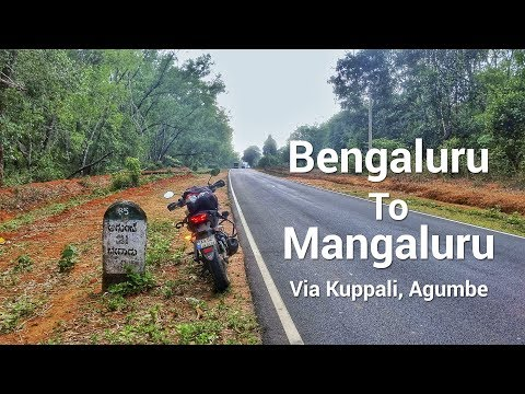Bengaluru to Mangaluru via Agumbe | Transformation of Summer to Winter in one day