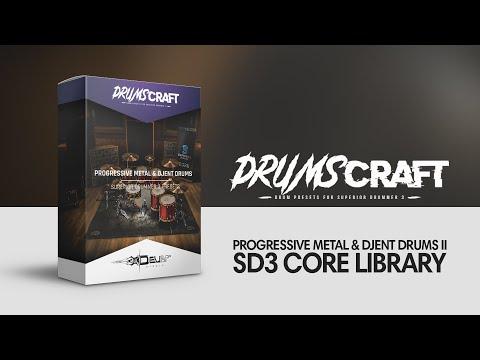 Superior Drummer 3 Presets // Progressive metal & djent style   Develop Device