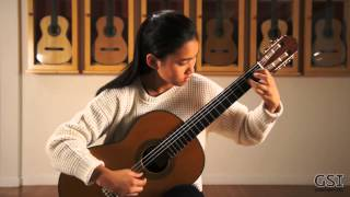 "Barrios' ""Variations on a Theme by Tarrega"" played by Olivia Chiang on a Teodoro Perez 'Maestro'"