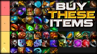 We ranked every item in Dota. It took a long time.