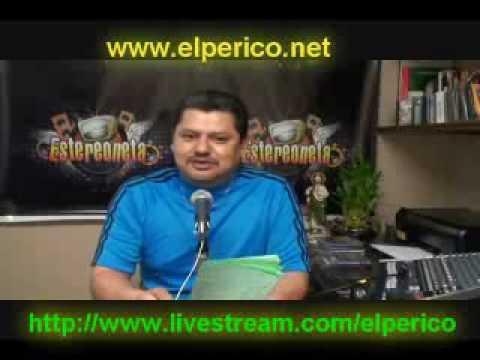 Desinformador Mario Flores El Perico Youtube