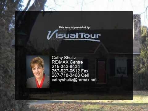 Stone Cape Cod home for sale in Doylestown Bucks County PA