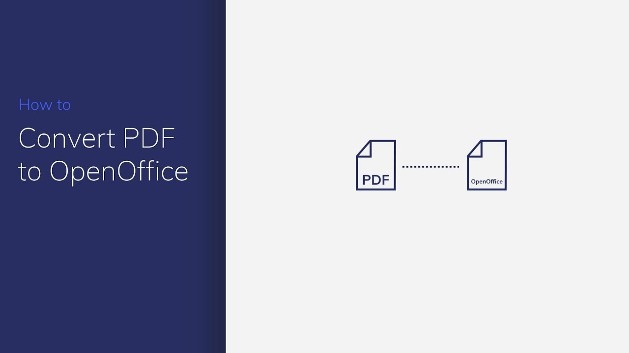 How to Convert PDF to OpenOffice | Wondershare PDFelement